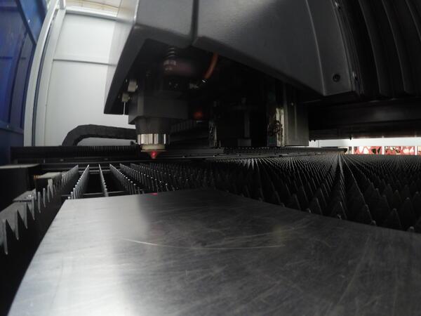cortadora láser para metal
