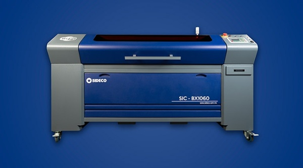MAQUINA LASER CO2 SIDECO